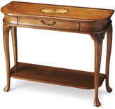 Butler Specialty Company Ridgeland Console Table in Olive Ash Burl