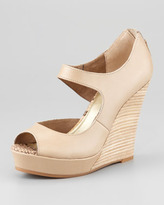 Seychelles Down to the Wire Wedge Sandal, Taupe