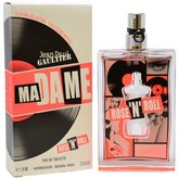 Jean Paul Gaultier Madame Rose N Roll Eau De Toilette Spray for Women, 2.5 Ounce by