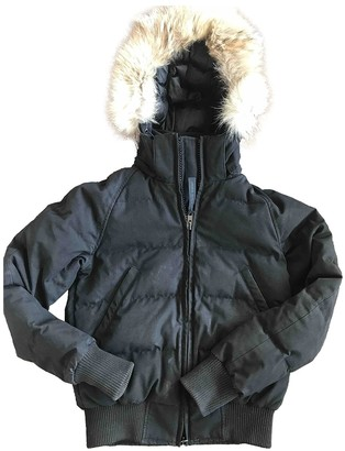 Canada Goose Black Coat for Women