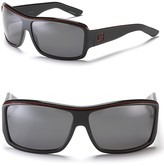 Sport Wrap Rectangular Sunglasses