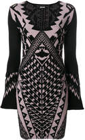 Just Cavalli patterned knit dress