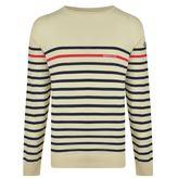 Moncler Stripe Logo Knitted Jumper