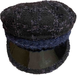 Chanel Navy Wool Hats