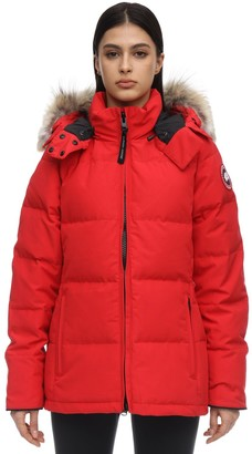 Canada Goose Chelsea Parka With Fur Trim