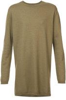 Rick Owens cashmere crew neck jumper - men - Cashmere - 48