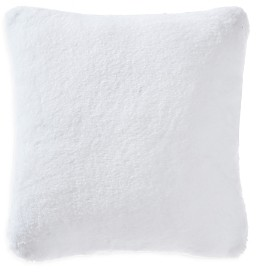Vera Wang Lapin Faux Fur Decorative Pillow, 20 x 20