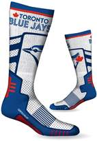SPORTICUS Toronto Blue Jays Men's High Performance Over The Calf Compression Sock