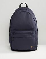 Farah Canvas Backpack Navy
