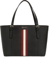 Bally Supra Saffiano Leather Tote Bag