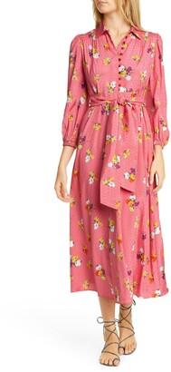 By Ti Mo Floral Midi Dress