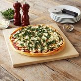 Sur La Table Square Glazed-Cordierite Pizza Stone, 15""