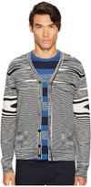 Missoni Fiammata Unito Knit Cardigan Men's Sweater