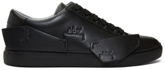 A-Cold-Wall* Black Logo Shard Sneakers