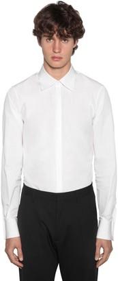 DSQUARED2 Slim Fit Relaxed Dan Cotton Poplin Shirt