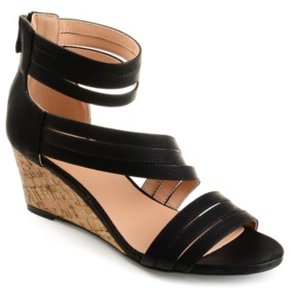 Journee Collection Loki Wedge Sandal