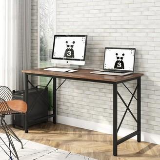 Inbox Zero Writing Desk Color: Walnut