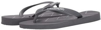 Havaianas Top Modern Stripes (Steel Grey/Steel Grey) Men's Sandals