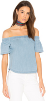 3x1 Clark Off Shoulder Top