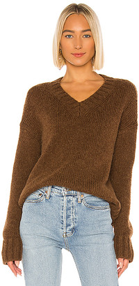 RE/DONE 90s Oversized V-Neck Sweater