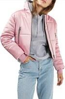 Topshop Women's Crop Puffer Jacket