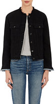Rag & Bone Women's Cotton Denim Collarless Jacket