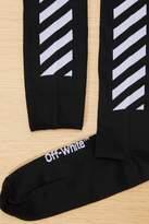 Off-White Off White Diag long socks