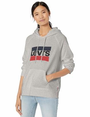 Levi's Women's Graphic Sport Hoodie Shirt