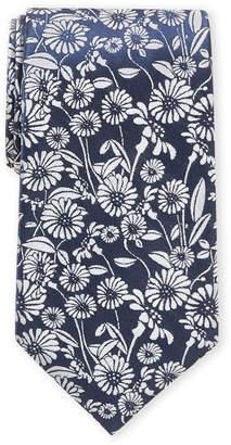 Ike Behar Ike By Navy Floral Tie