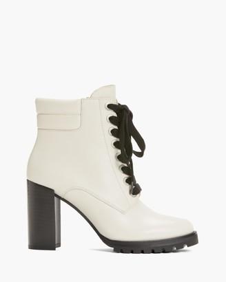 Paige Nicole Boot In Leather-Vanilla