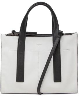 T Tahari Gotham Leather Satchel