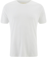 Folk Men's Plain Crew Neck TShirt - White
