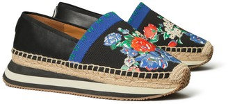 Tory Burch Printed Daisy Slip-On Sneaker
