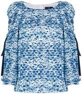 Steffen Schraut open sleeve blouse