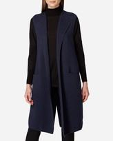 N.Peal Long Milano Cashmere Waistcoat