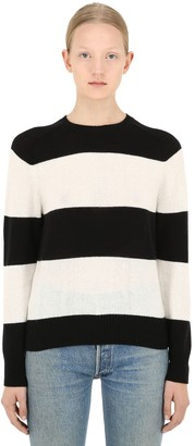 RE/DONE Striped Cashmere Sweater