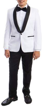 Perry Ellis Solid Shawl Collar 5-Piece Tuxedo (Big Boys)