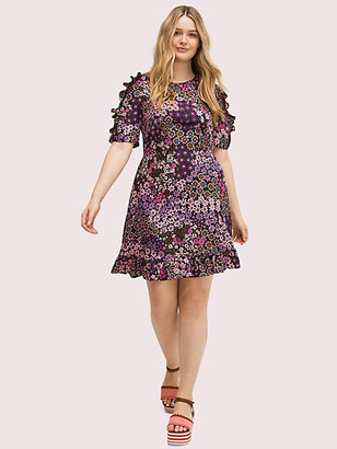 Kate Spade Pacific Petals Smocked Dress
