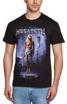 Live Nation Men's Megadeth - Countdown Crew Neck Short Sleeve T-Shirt