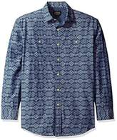 Pendleton Men's Long Sleeve Chambray Jacquard Shirt