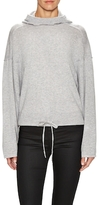 Helmut Lang Cashmere Drawstring Pullover Hoodie