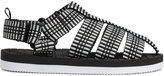 H&M Sandals - Black/white - Kids
