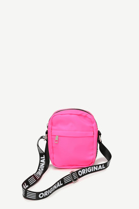 Ardene Original Nylon Neon Crossbody Bag