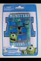 Disney Monsters University Mike/sully Light Switch Plate (Single) by