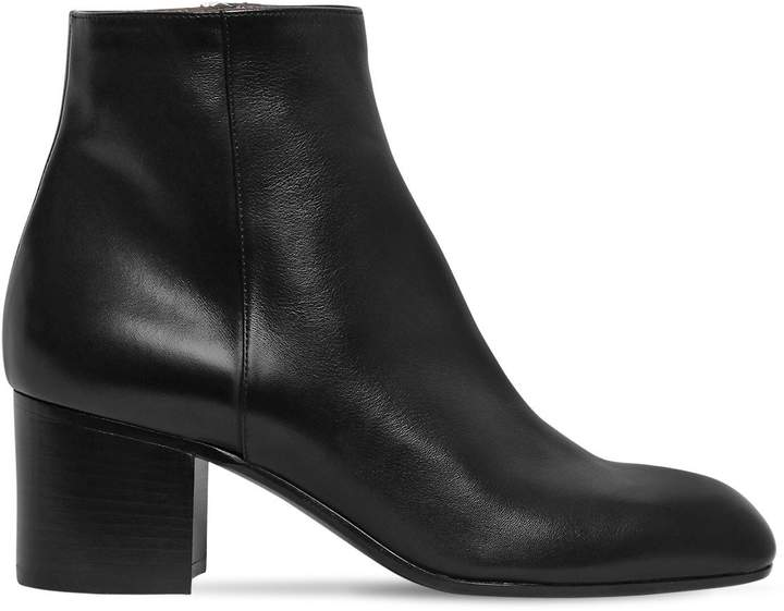 Laurence Dacade 60mm Selda Leather Ankle Boots
