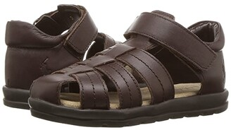 Polo Ralph Lauren Kids Donevan (Toddler) (Chocolate Full Grain Leather) Boy's Shoes