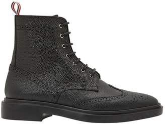 Thom Browne Leather ankle boots