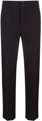 Incotex Tapered-Fit Jacquard Trousers