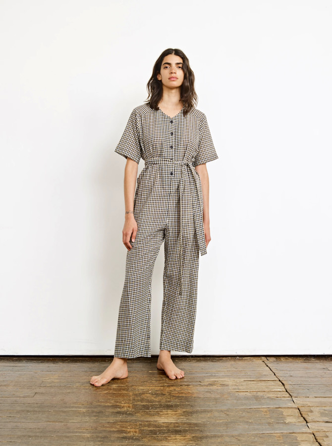 Ace&Jig Benji Jumpsuit with Short Sleeves - l