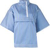 Ports 1961 striped blouse - women - Cotton/Polyester/Silk - 40
